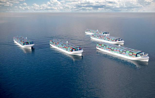The Future of the Maritime Logistics Industry: Unmanned ships from 2020